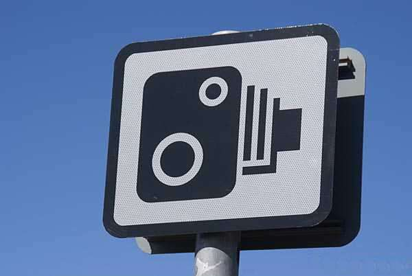 UK Speed Camera Sign
