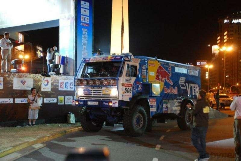 Дакар-2009: Первый этап без потерь— фото 5951