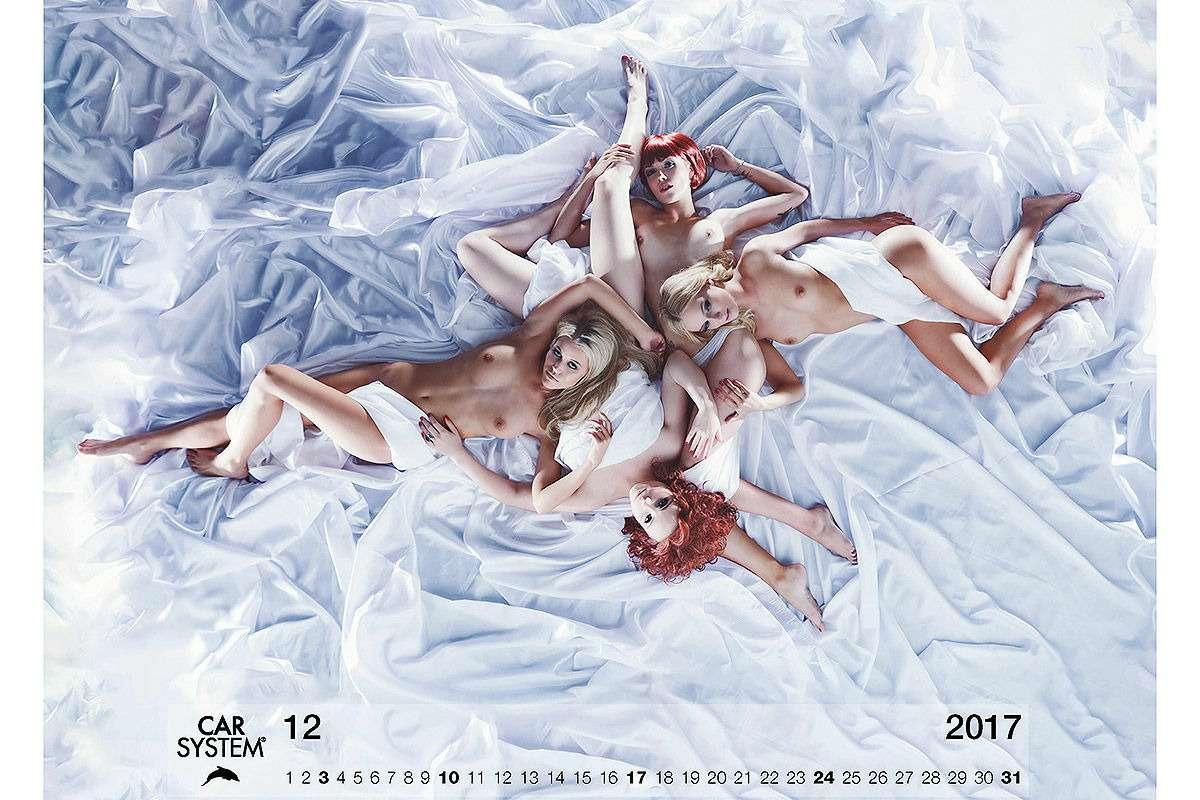 Онивгонят вас вкраску! Эротический календарь Carsystem 2018— фото 820649