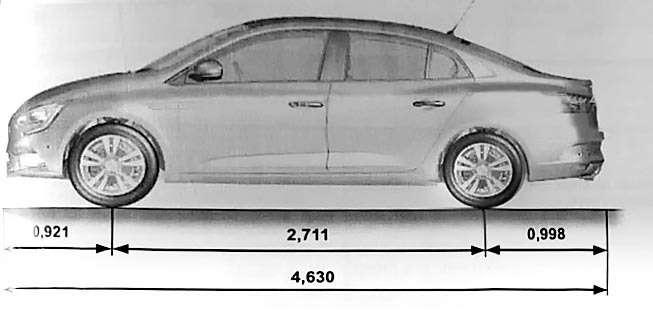Седан Renault Megane раздувается отсобственной значимости— фото 602564