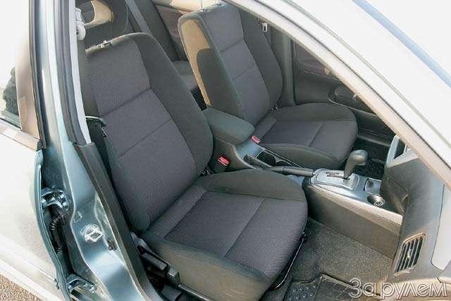 ТЕСТ: Mazda 3и Mitsubishi Lancer. Два литра сверхом— фото 63622