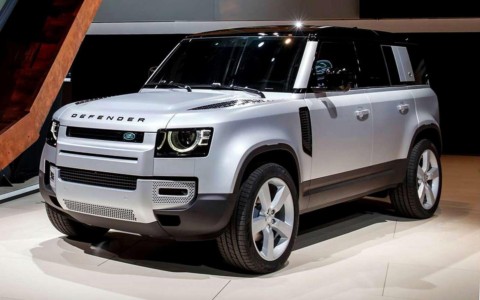 Новый Land Rover Defender: онбольше нерамный!— фото 995258