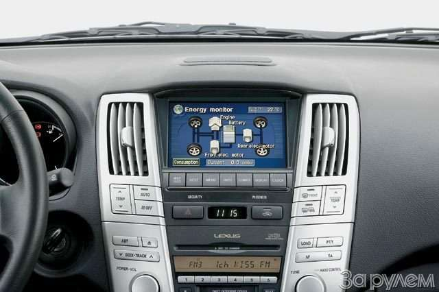Lexus RX400h. Электросила— фото 57040