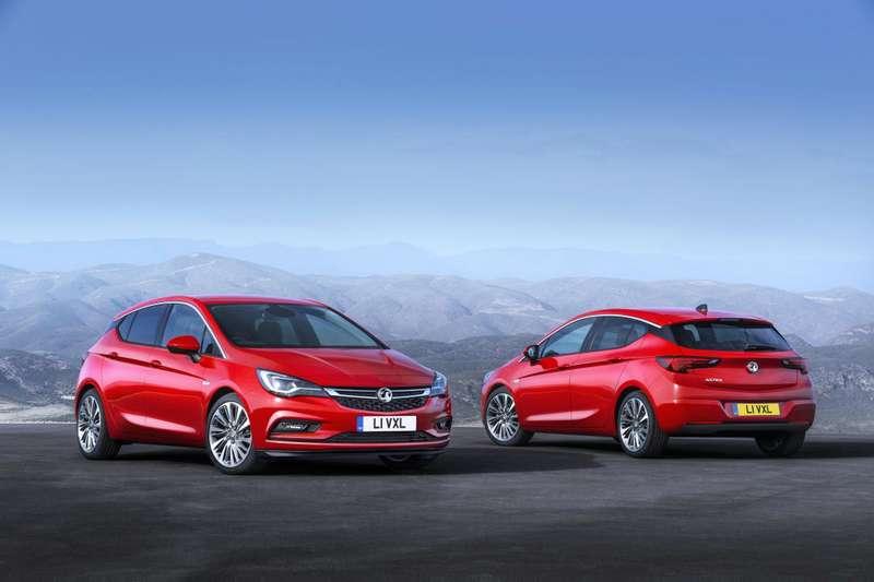 2015 Opel Astra K