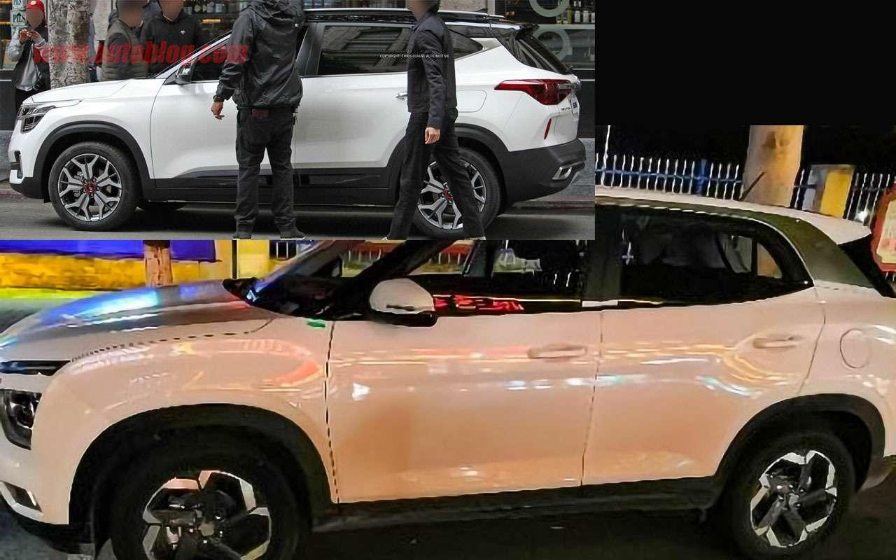 Новые кроссоверы Hyundai иKia: 7отличий Креты отСелтоса— фото 985710