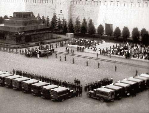 1934 финиш дизельного пробега