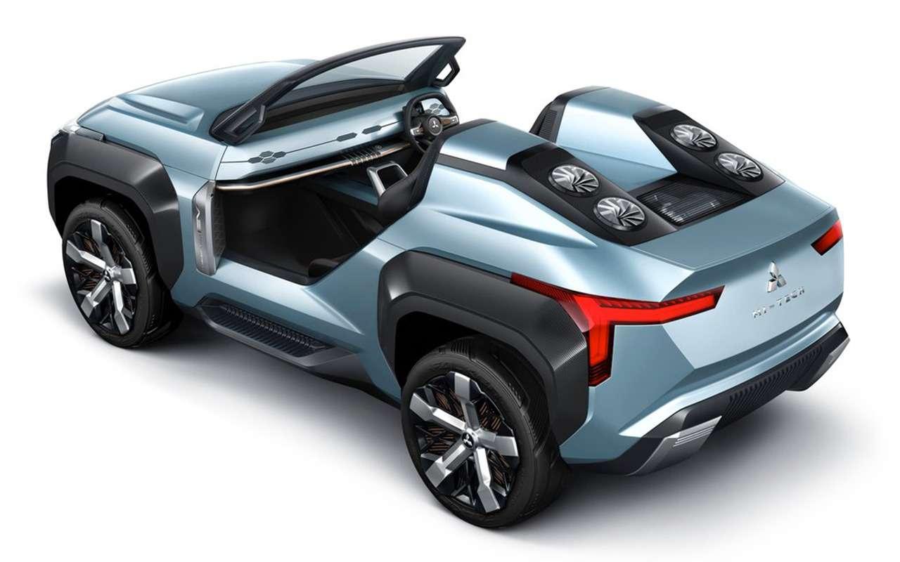Багги Mitsubishi MI-Tech Concept может потреблять солярку, керосин идаже спирт— фото 1004174