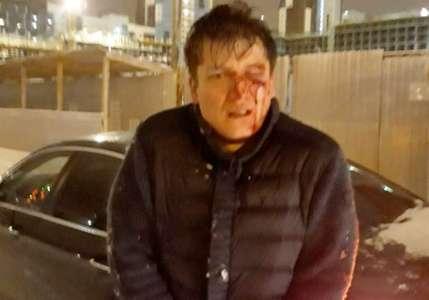 «У него мама судья!» Пьяный мажор на BMW получил по лицу