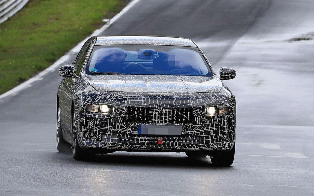 Новая «семерка» BMW: другая платформа идата дебюта— фото 1248932