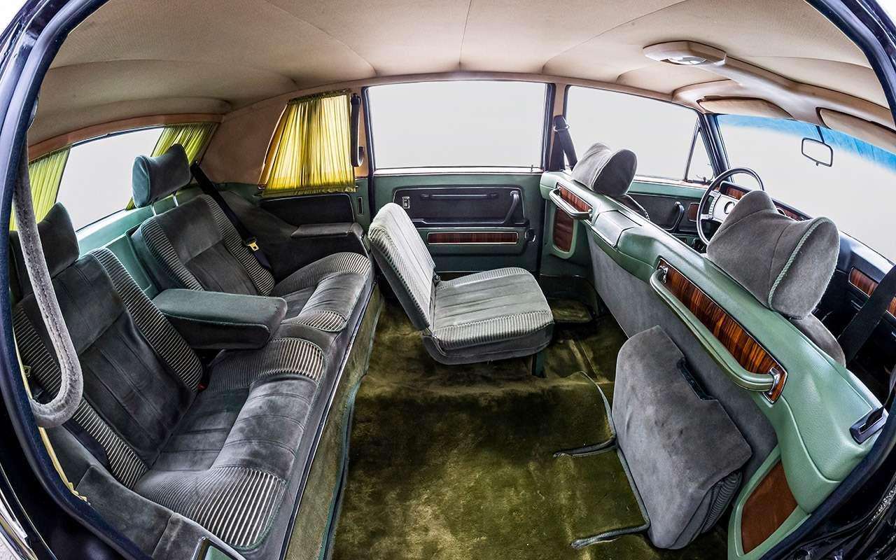 Тест машины, которую никогда непродавали: Чайка ГАЗ‑14— фото 998646