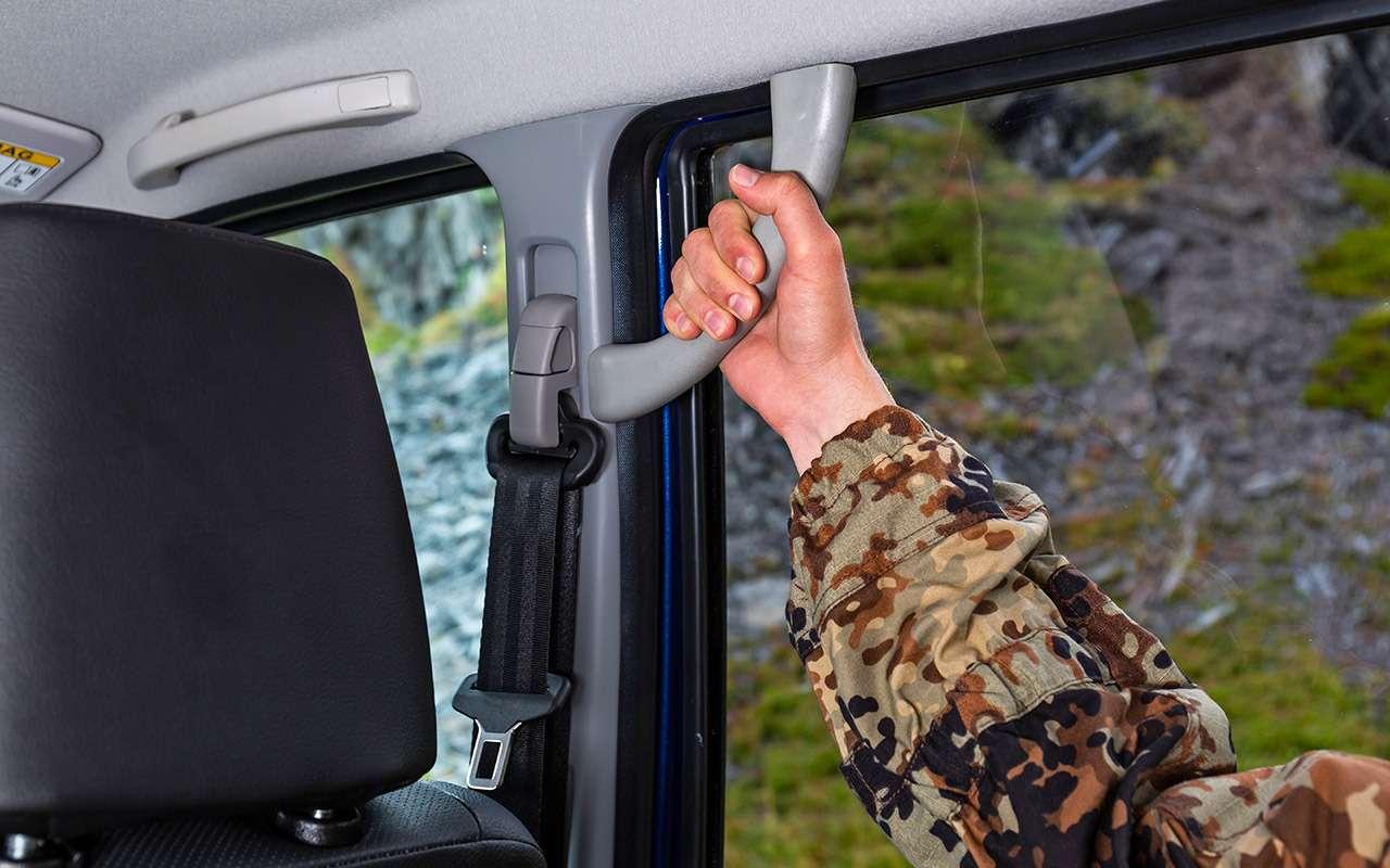 Модернизированный УАЗ Патриот: после тест-драйва ЗРего отправили подпресс— фото 905748