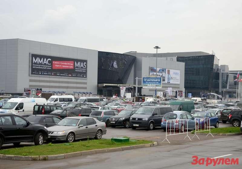 Крокус Экспо. ММАС-2012