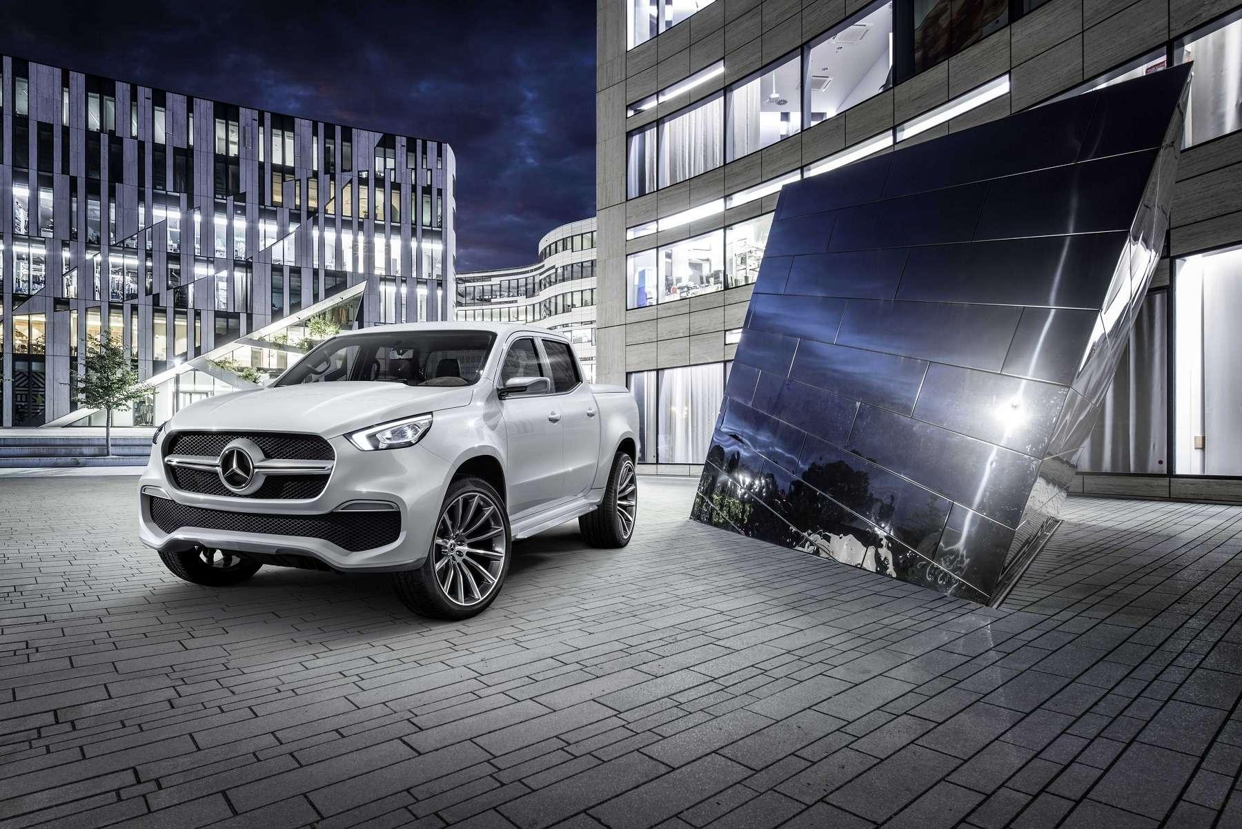 Дело чести: Mercedes-Benz представил пикапы X-класса— фото 654282