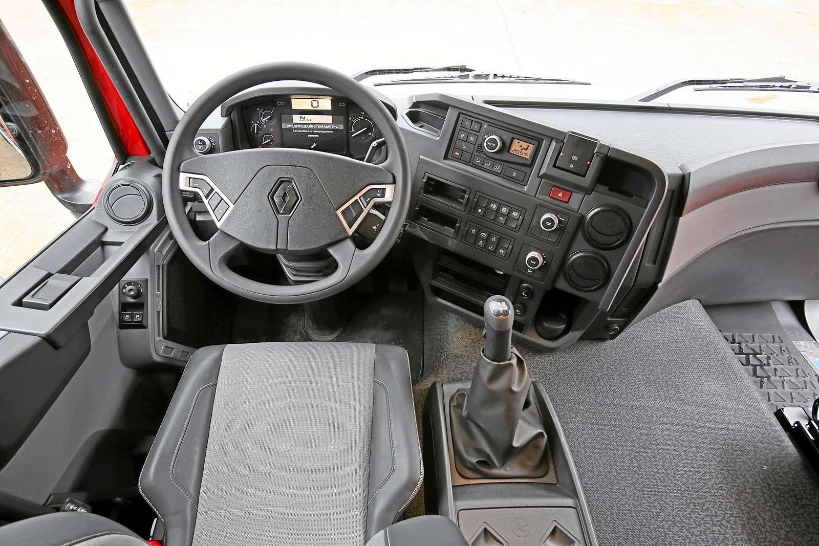 Строительные грузовики Renault K-серии: сменяя Kerax— фото 589284
