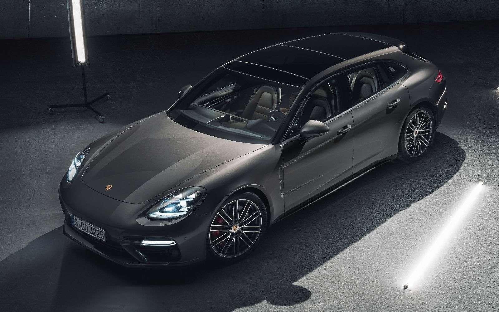 Porsche Panamera Sport Turismo: наконец-то «сарай»!— фото 714934