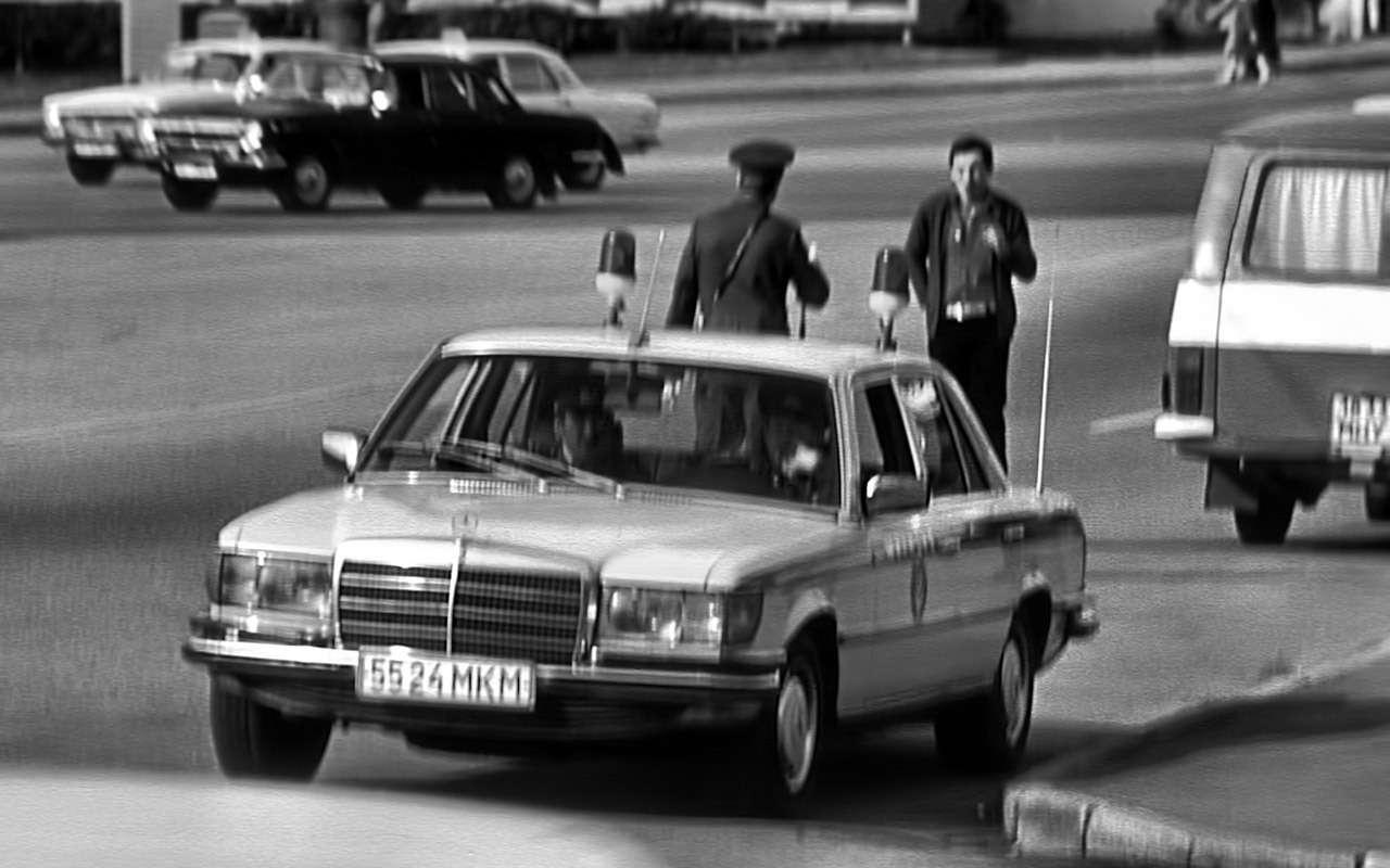 Машина Высоцкого, Карпова иБрежнева: первый вистории S-класс— фото 1210007
