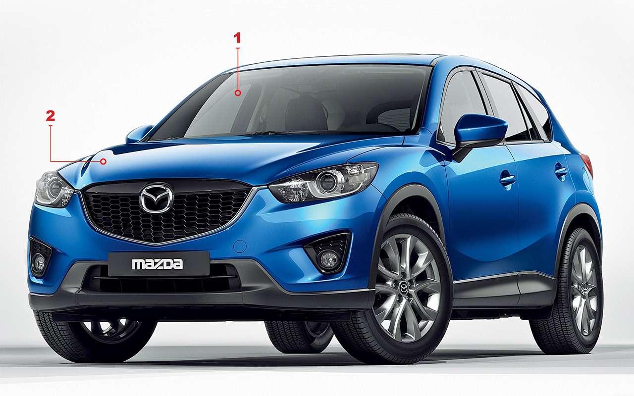 Mazda CX-5с пробегом: все проблемы кроссовера— фото 950123