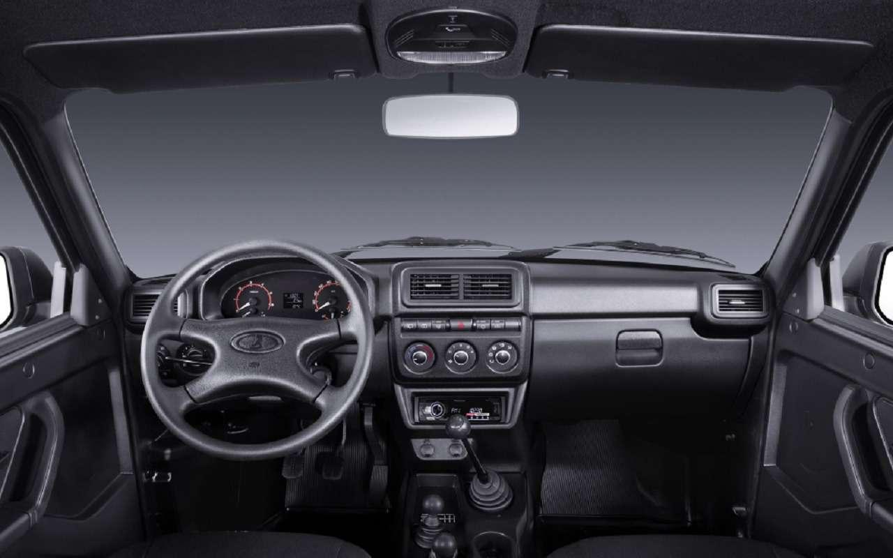 Lada 4x4 Urban Black: фото ивсе расцветки— фото 1195224