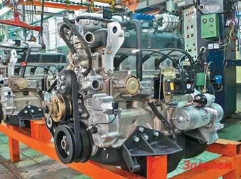 Ульяновский мотор уже давно неУАЗовский, аблагодаря  объему 2,9 литра и8клапанам хорошо переводится нагаз