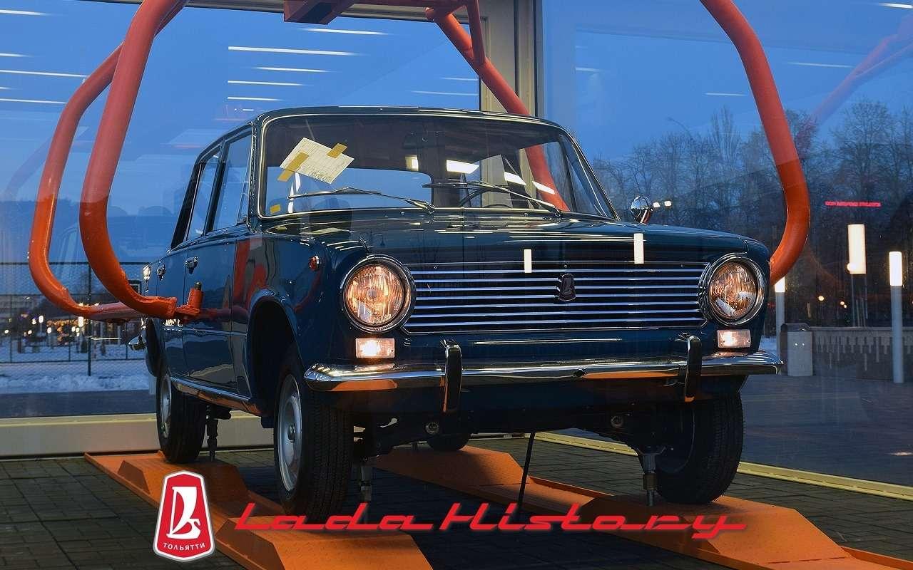 Автомобилю ВАЗ-2101 поставили памятник— фото 1210817