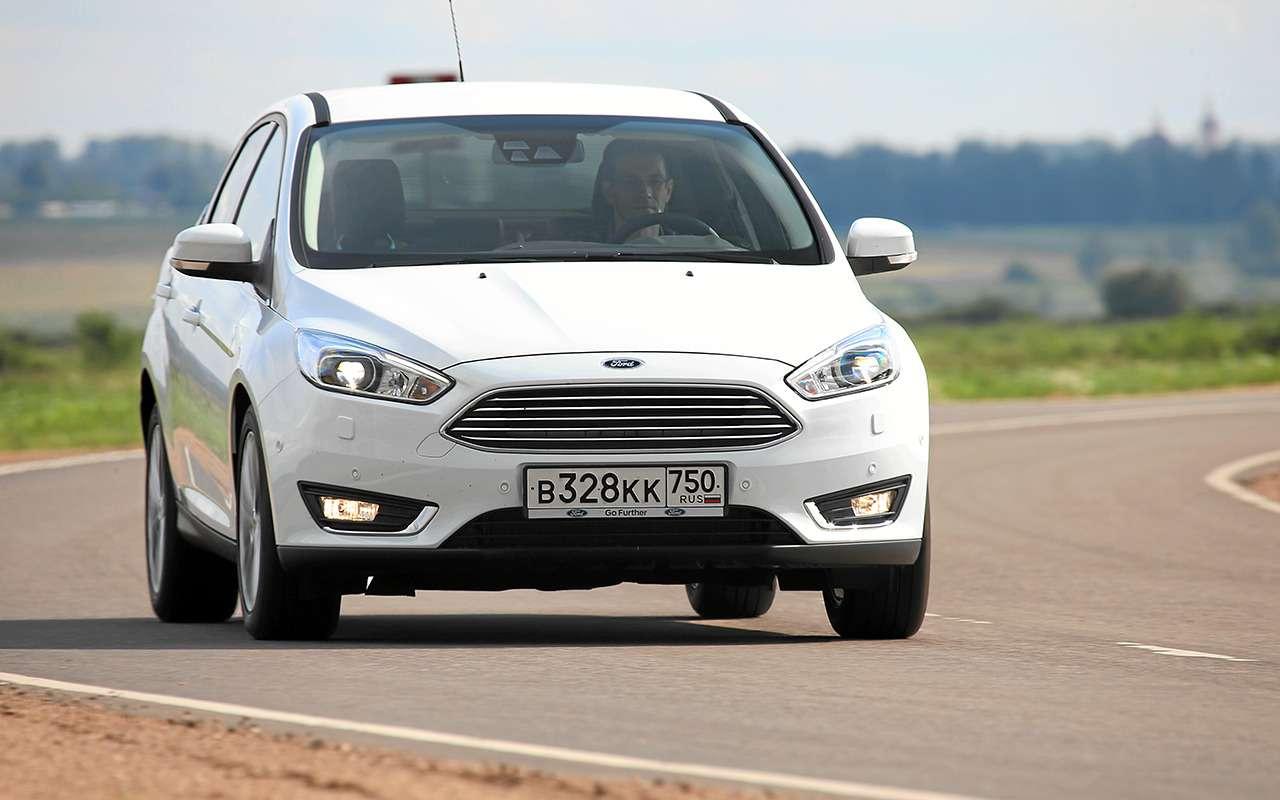 Дорогой Volkswagen Polo или дешевый Ford Focus: что выбрать?— фото 840157