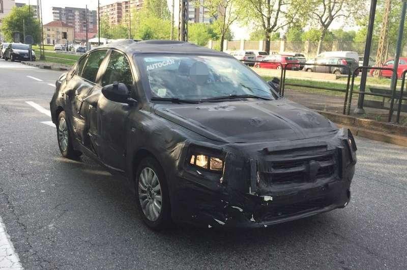 Прототип нового бюджетного седана Fiat