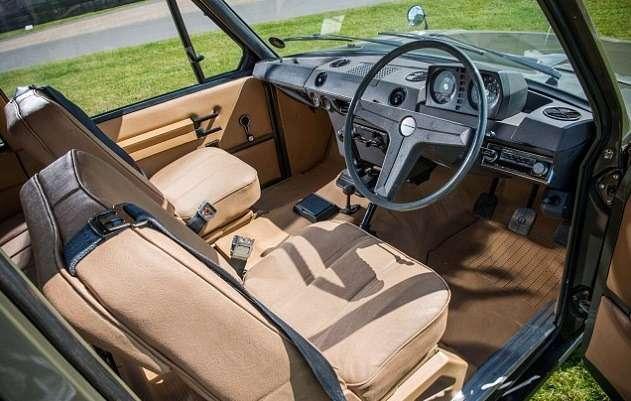 Первый Range Rover 1969 г.в. продадут саукциона за150000 фунтов