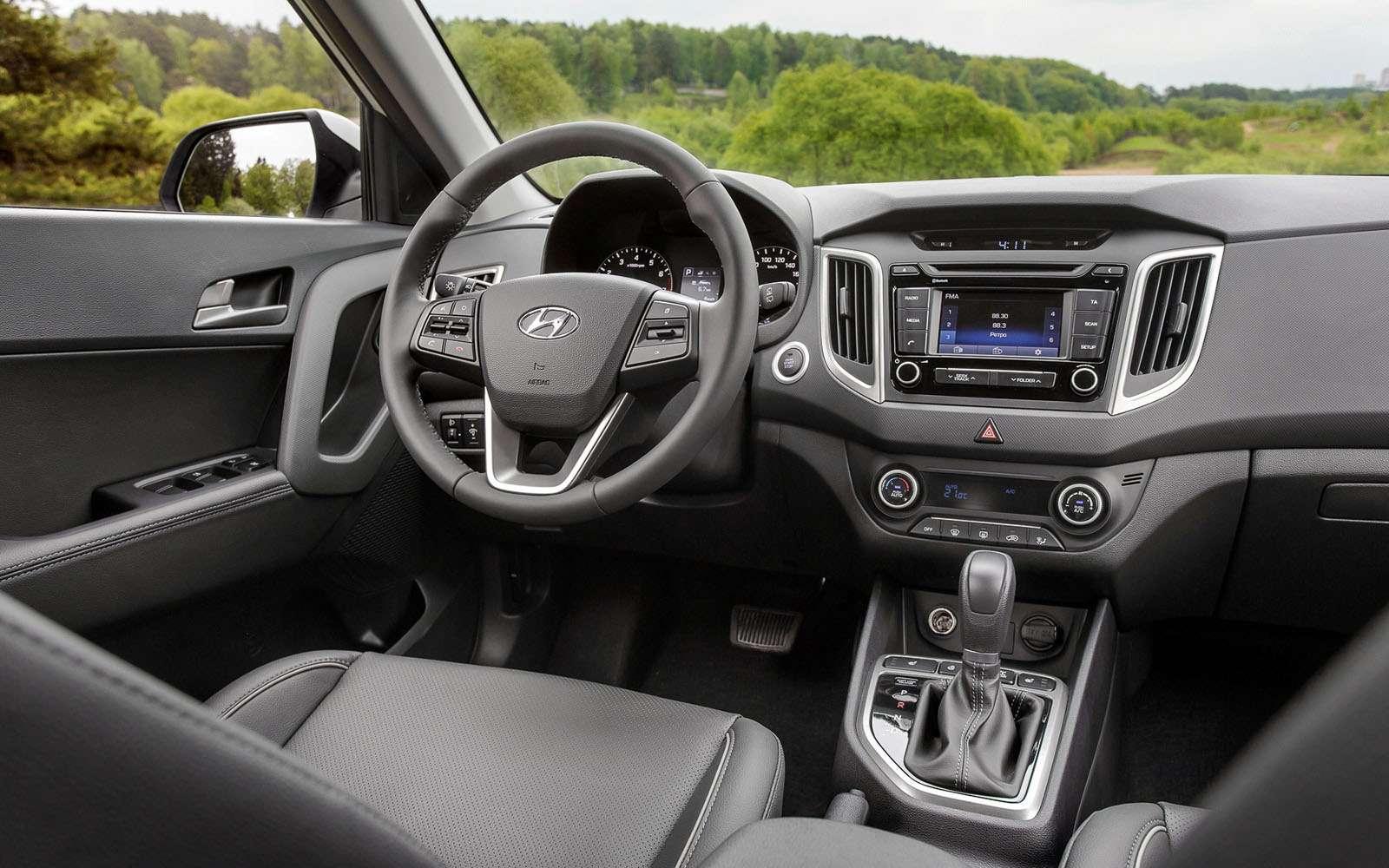Hyundai Creta или Renault Kaptur: какой кроссовер выбрать?— фото 611172