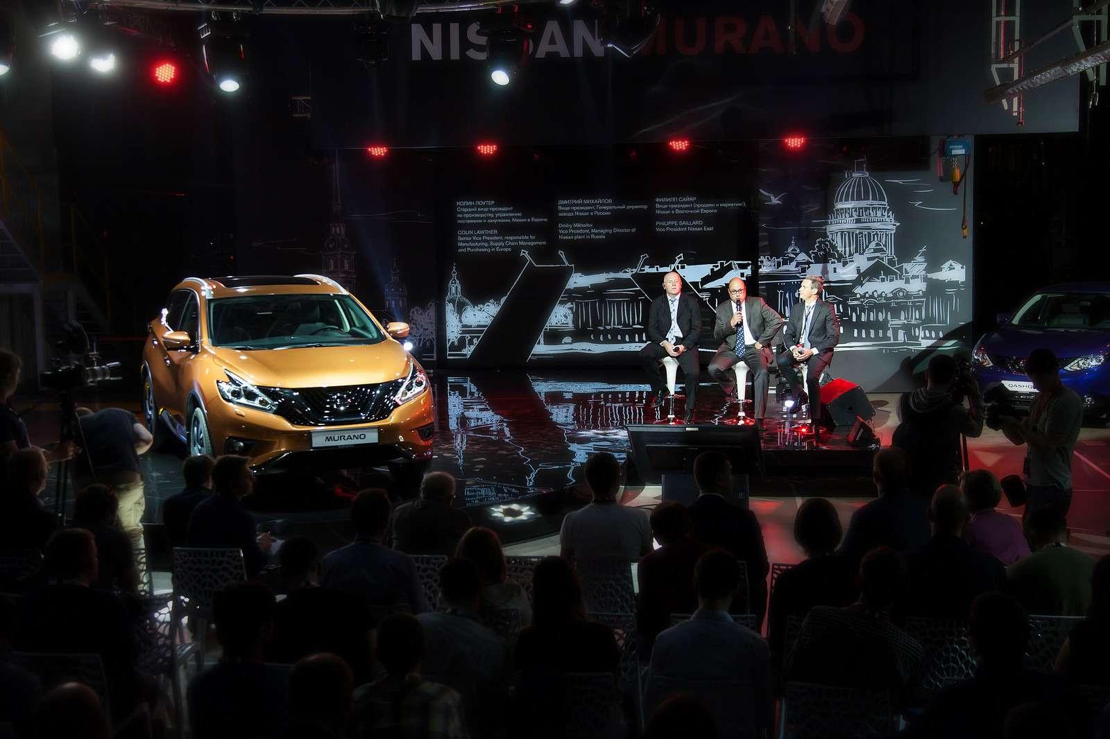 Новый Nissan Murano начали собирать вРоссии— фото 600807