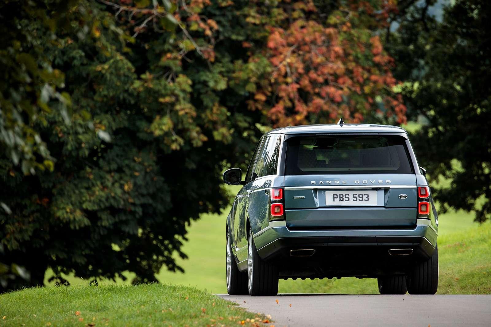 Обновленный Range Rover— ищем изменения слупой— фото 803913