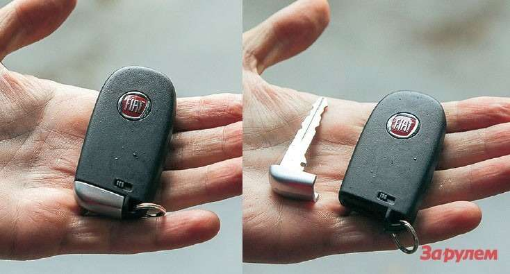 Ключ Fiat Freemont