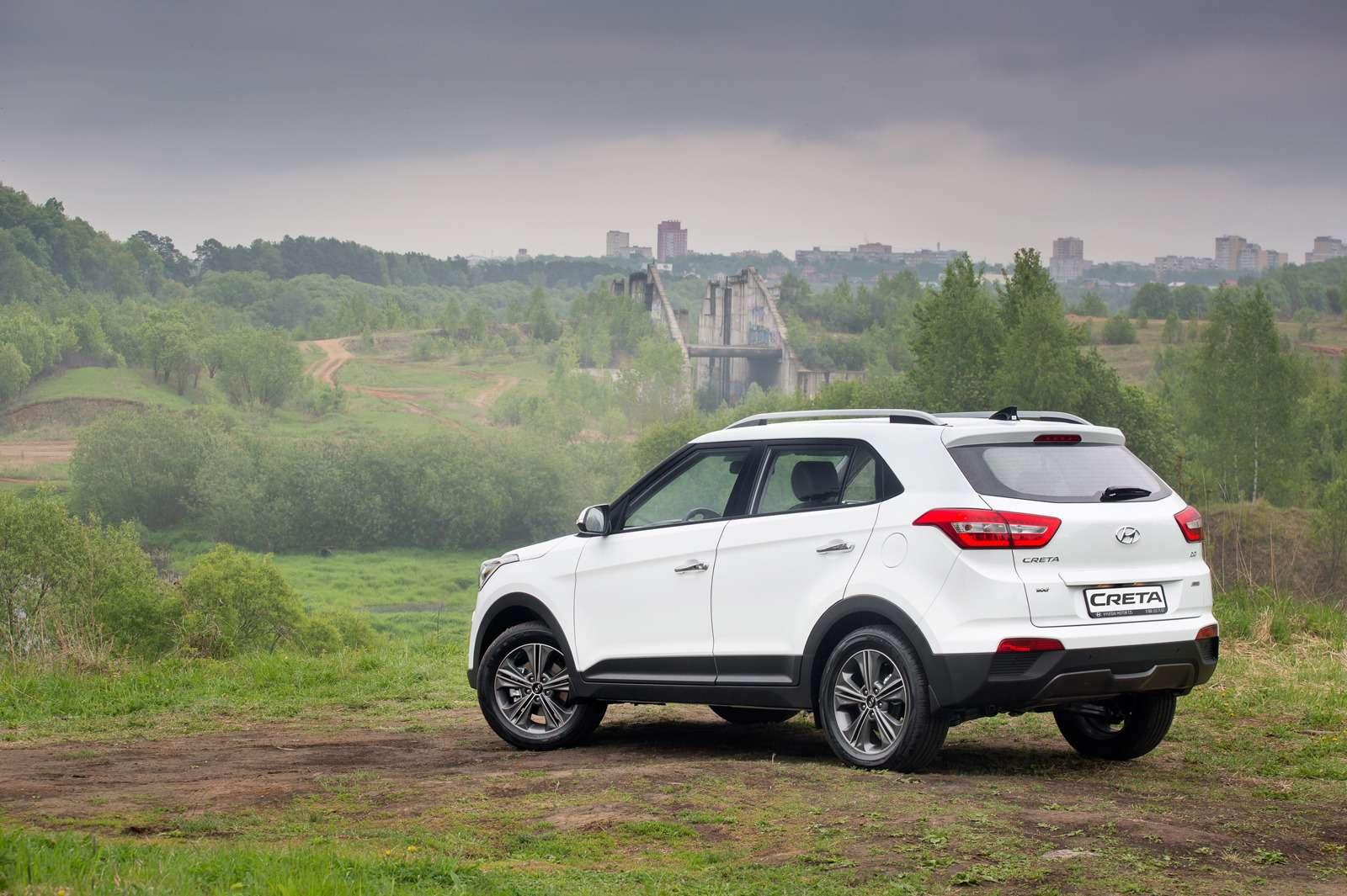 Hyundai рассекретила новый кроссовер Creta питерской сборки— фото 594246