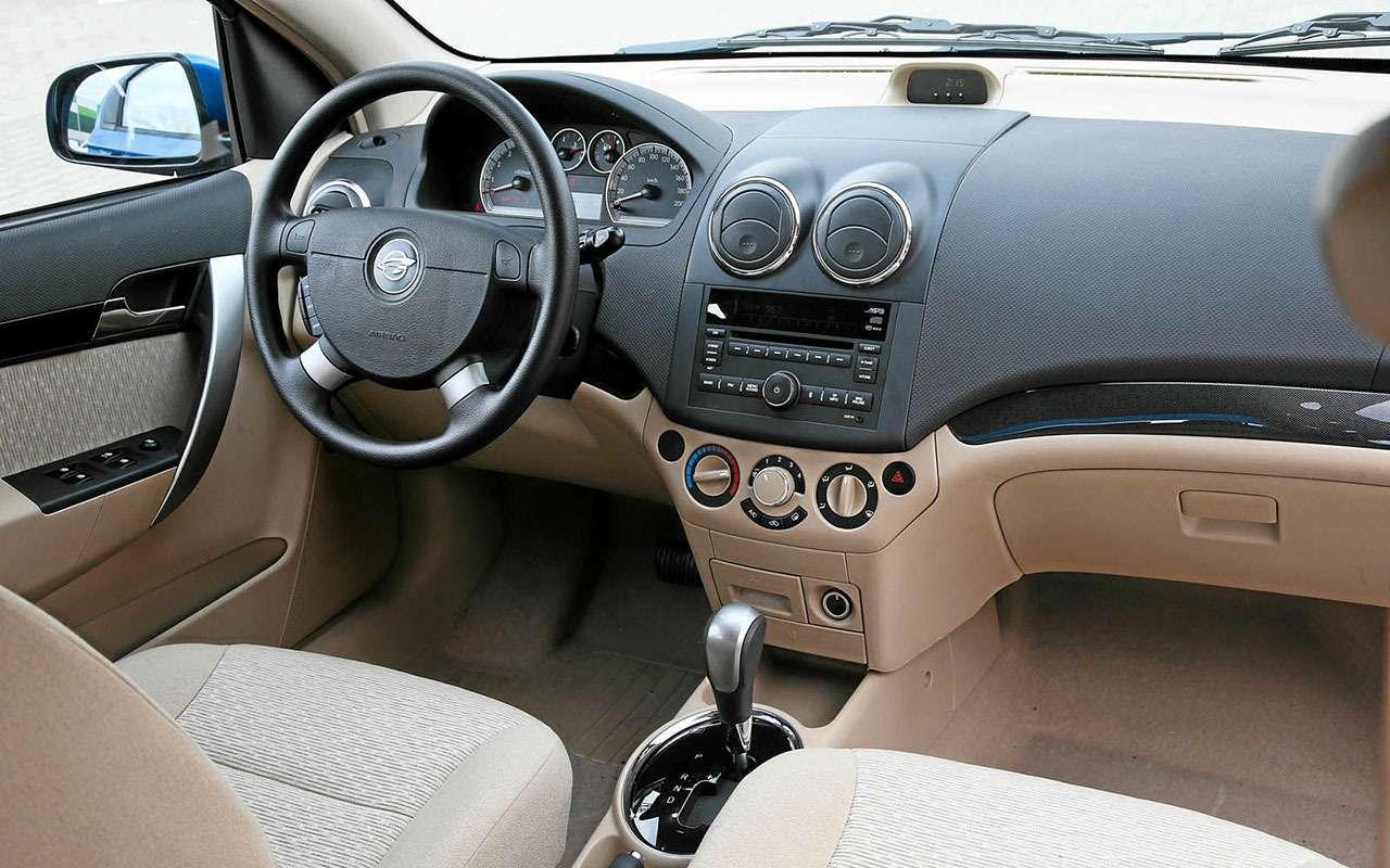 Лада Гранта или Ravon Nexia: выбираем дешевый седан— фото 826351