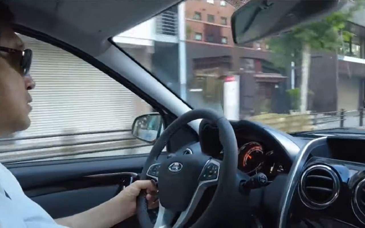 Японец протестировал Lada Largus и очень удивился (видео)