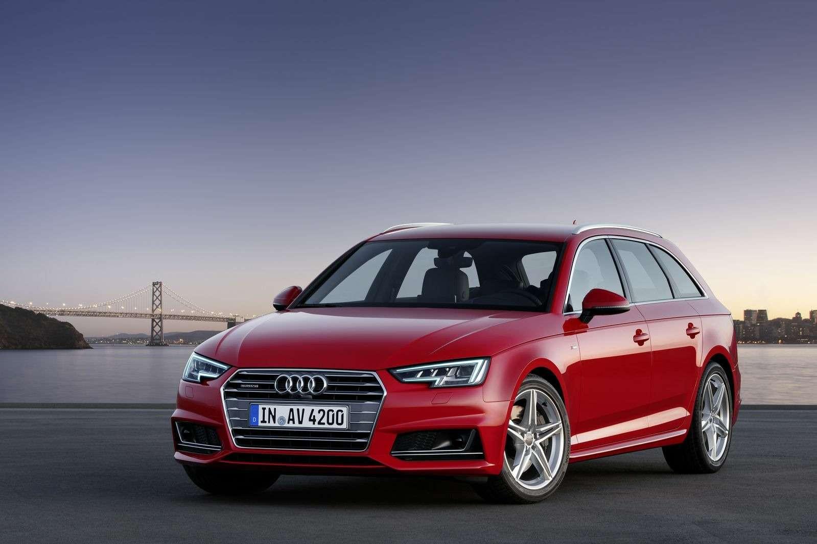Audi A4нового поколения доедет дороссийских дилеров кноябрю— фото 382147