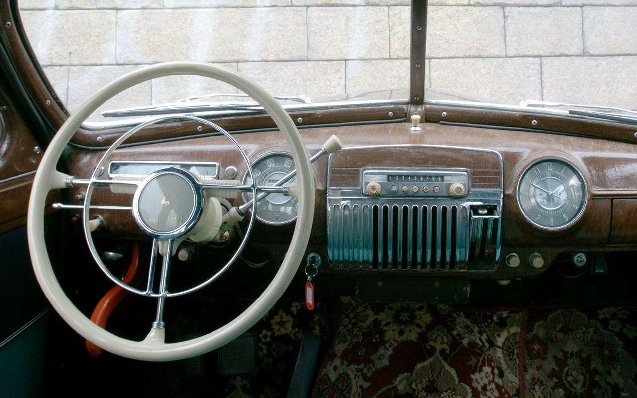 Седан дляпарткома: удивительная история ГАЗ‑12ЗИМ— фото 1172415