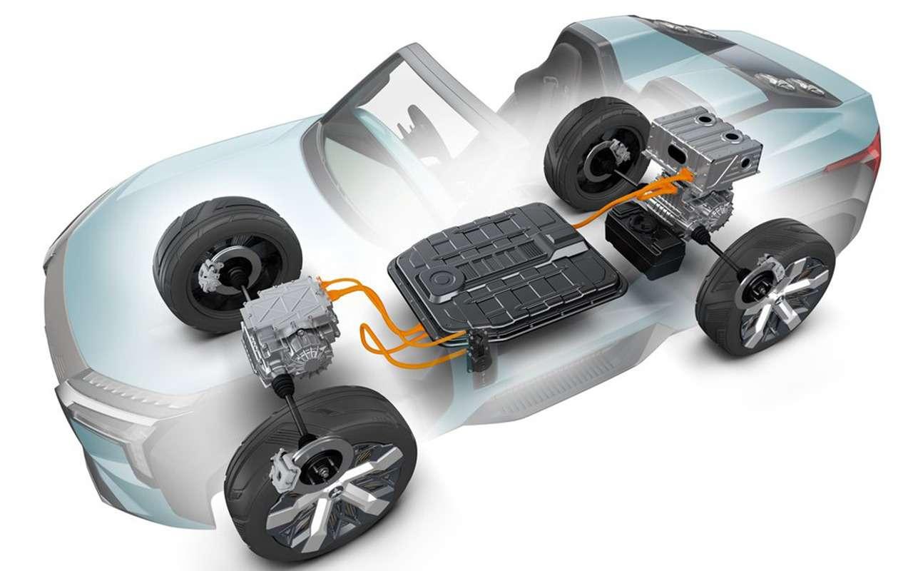 Багги Mitsubishi MI-Tech Concept может потреблять солярку, керосин идаже спирт— фото 1004180