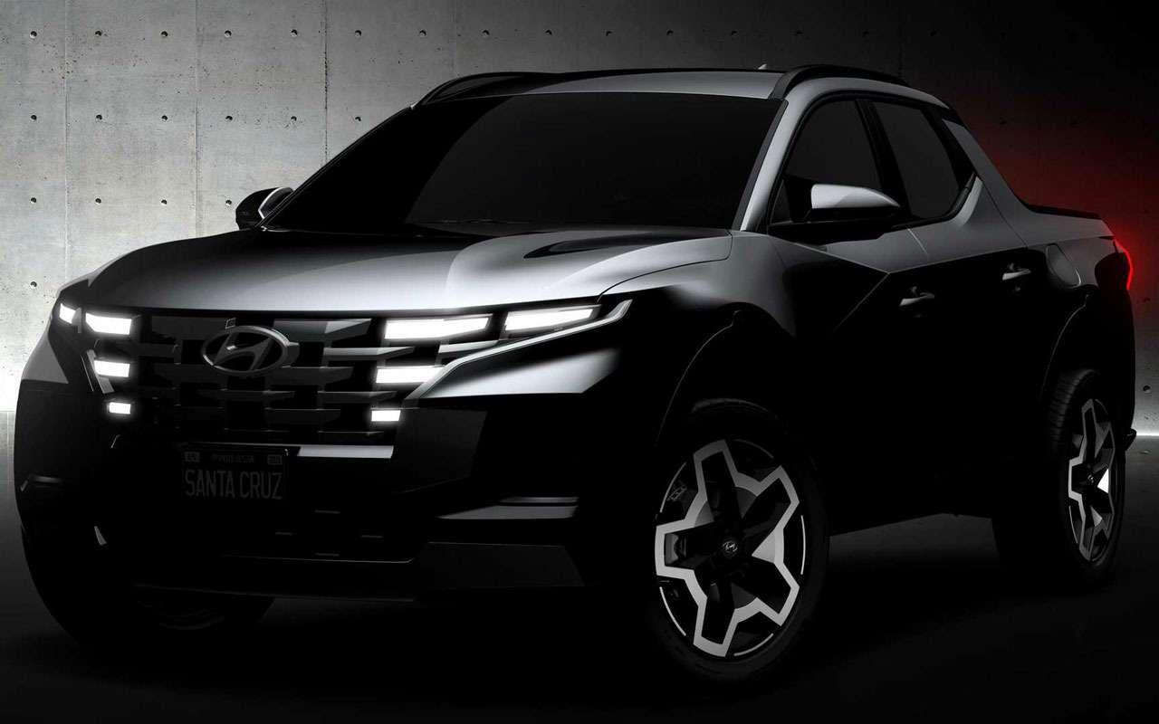 Hyundai заявила: Santa Cruz— это непикап!— фото 1238121
