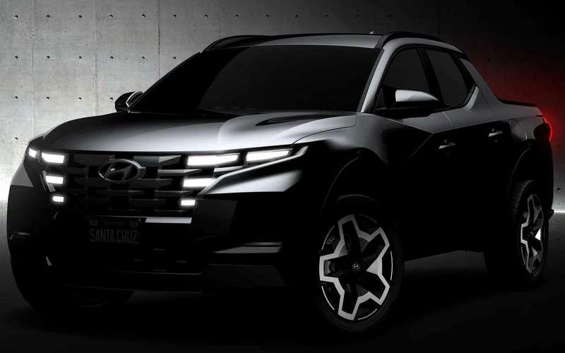 Hyundai заявила: Santa Cruz— это не пикап!
