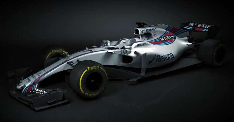Первая презентация 2017г. Williams показала новейшую машину