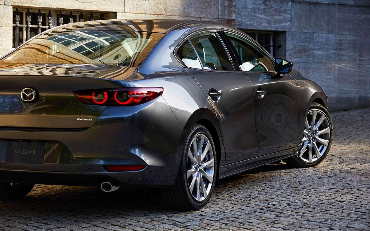Новая Mazda 3: как японцы скрестили бензиновый мотор сдизельным— фото 934472