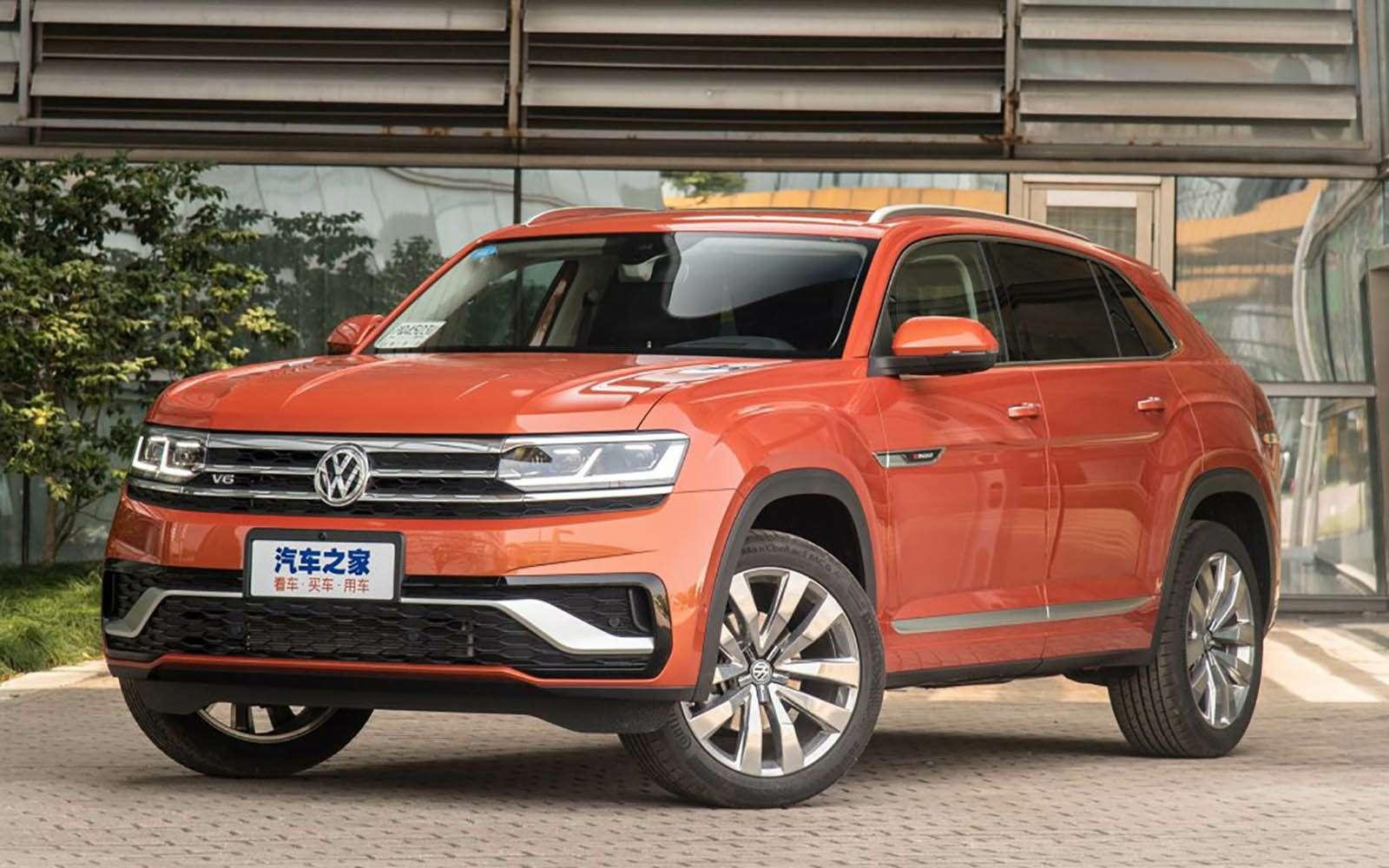 Volkswagen показал новый кроссовер— фото 966414