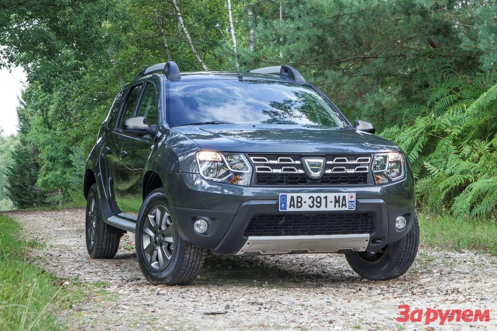 Обновленный Dacia Duster