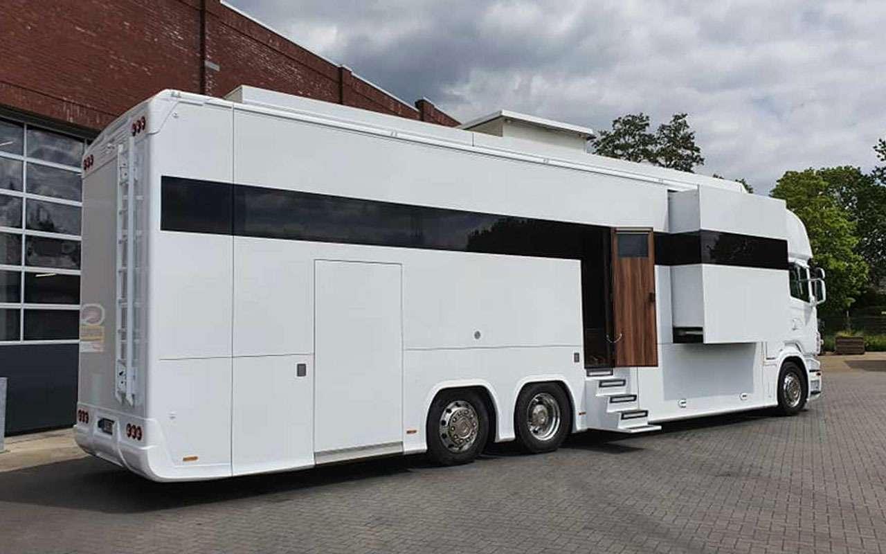 Удивительная автовилла Scania RV— три спальни игараж— фото 1136894