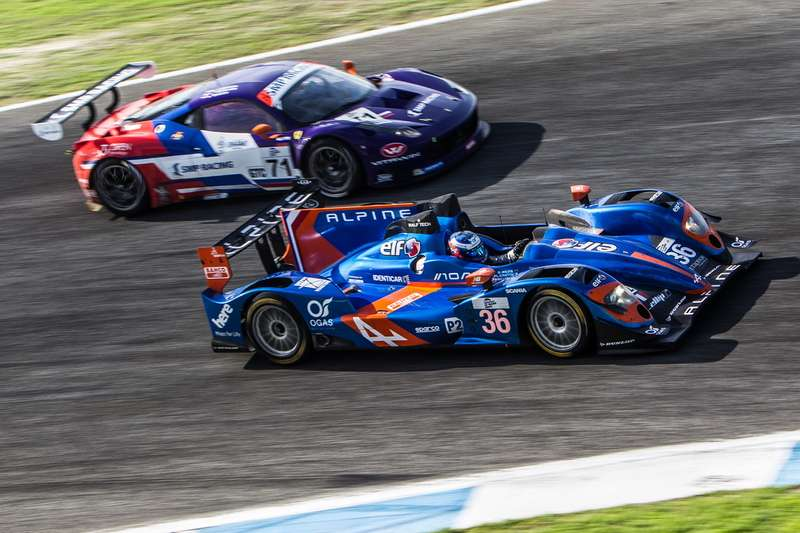 Paul-Loup Chatin (FRA) / Nelson Panciatici (FRA) / Oliver Webb (GBR) drivers of car #36 SIGNATECH ALPINE  (FRA) Alpine A450b — Nissan  Race at Circuito Estoril — Cascais — Portugal