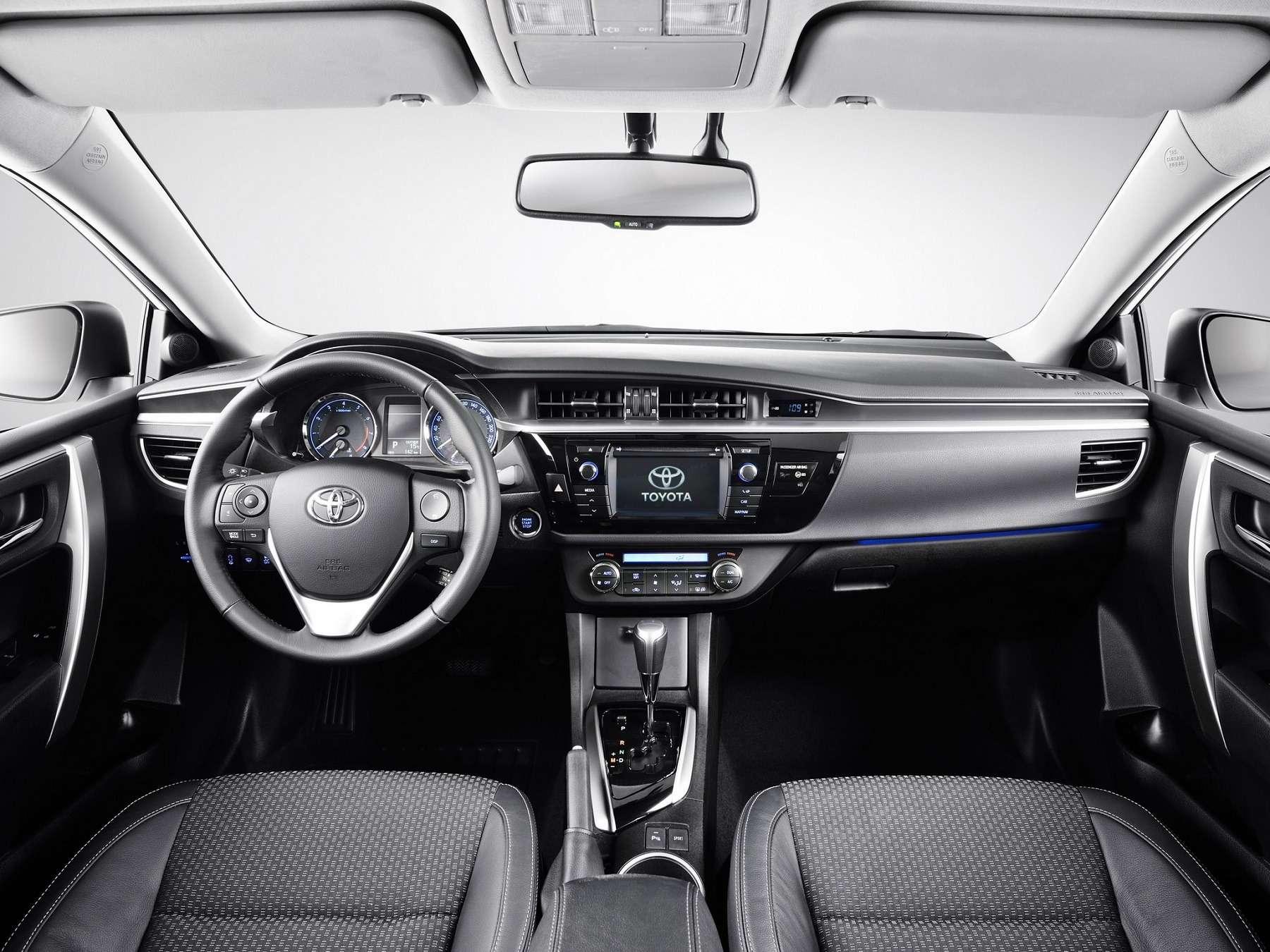 Интерьер Toyota Corolla