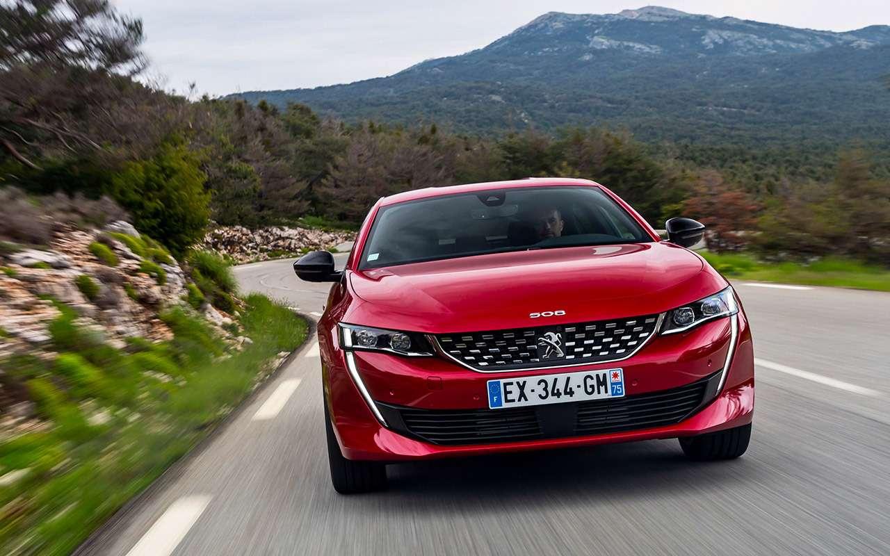 Peugeot 508: тест-драйв встиле «Такси»— фото 898054