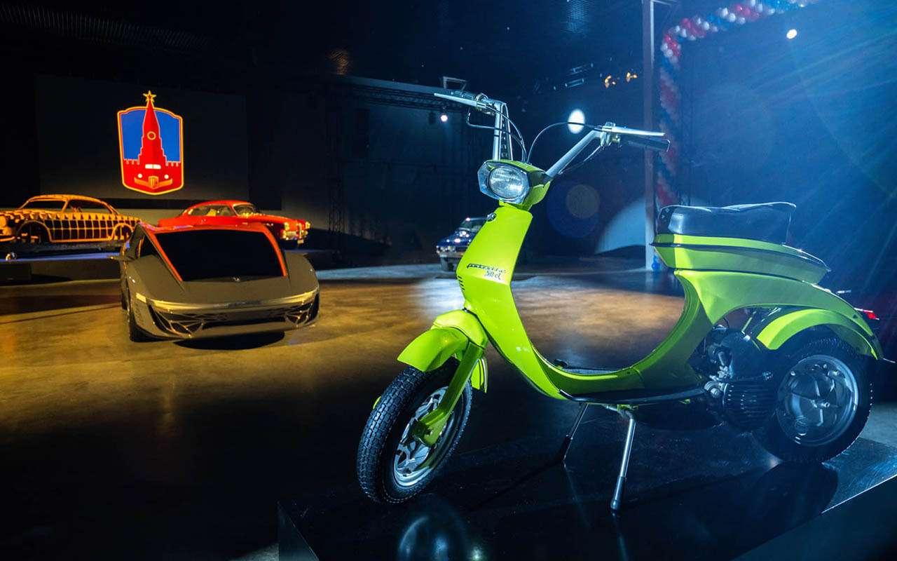 Автомобили Нуччо Бертоне выставили вмузее ГОНа— фото 1269195