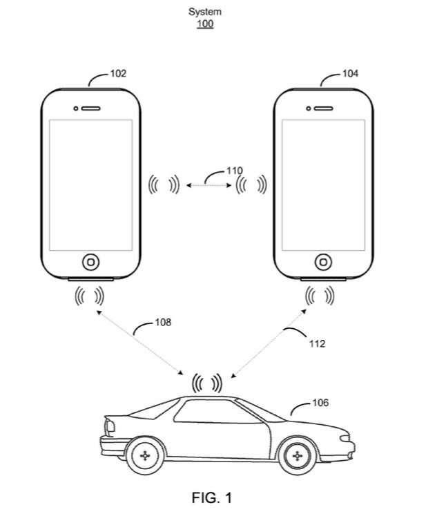 Apple выдан патент натехнологию доступа вавтомобиль спомощью iPhone