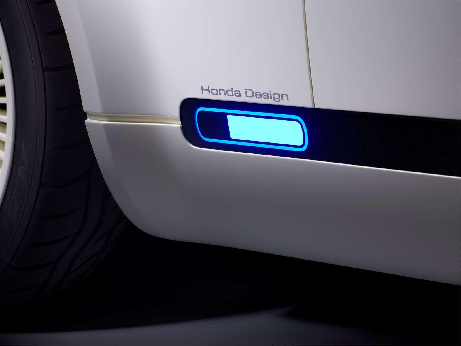 Honda показала хэтчбек будущего сдизайном изпрошлого— фото 793872